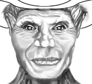 Anton, Neutral Expression (Digital Drawing)