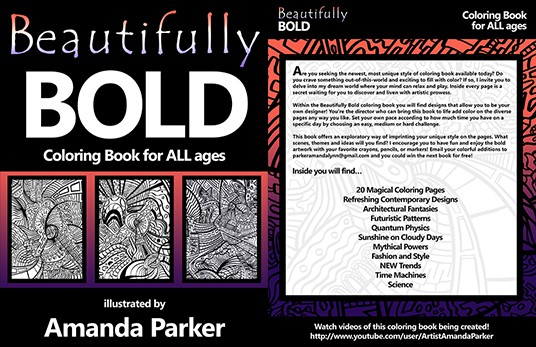 Beautifully Bold Coloring Book